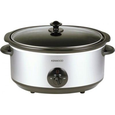Kenwood Slow Cooker (6.5L) (Stainless Steel):
