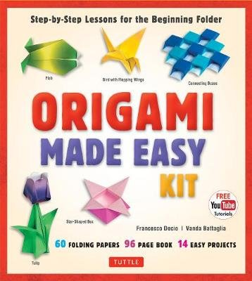Origami Made Easy Kit - Step-By-Step Lessons for the Beginning Folder (Kit, Revised, Revised, Book and Kit ed.): Vanda...