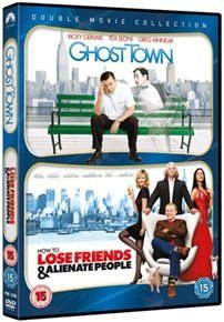 How To Lose Friends And Alienate People / Ghost Town (DVD): Simon Pegg, Kirsten Dunst, Jeff Bridges, Megan Fox, Emily...