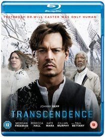 Transcendence (Blu-ray disc): Johnny Depp, Morgan Freeman, Rebecca Hall, Kate Mara, Cillian Murphy, Paul Bettany, Cole Hauser