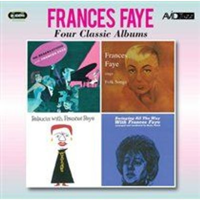 Frances Faye - Four Classic Albums (No Reservations/Sings Folk Songs/Relaxin'/Swinging All the Way) (CD): Frances Faye