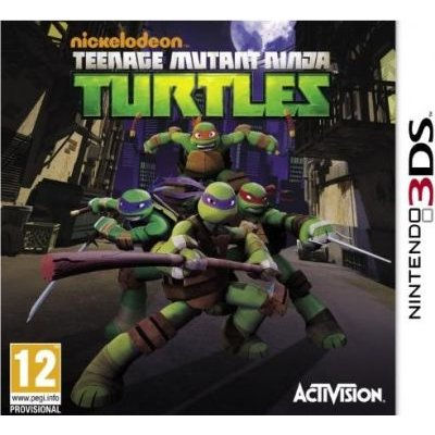 Teenage Mutant Ninja Turtles (Nintendo 3DS, Game cartridge):