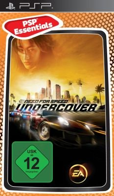 Need for Speed Undercover (Essentials) (PSP, UMD Video):