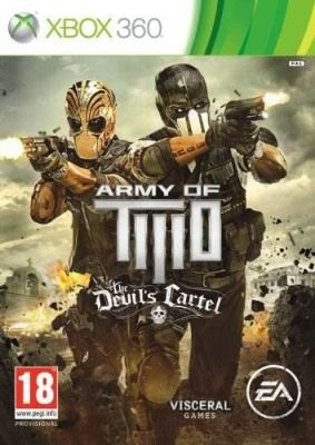Army of Two: The Devil's Cartel  (XBox 360, DVD-ROM):