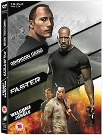 Faster / Gridiron Gang / Welcome To The Jungle (English & Foreign language, DVD): Dwayne Johnson, Billy Bob Thornton, Oliver...