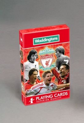 Waddington's No.1 Playing cards - Liverpool FC: