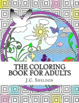 An Anti-Stress Art Therapy Coloring Book (Paperback): Jc Sheldon