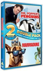 Mr Popper's Penguins/Marmaduke (English, Spanish, Italian, DVD): Jim Carrey, Carla Gugino, Angela Lansbury, Madeline...