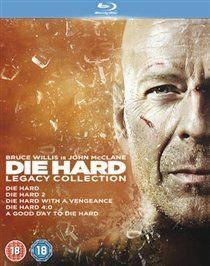 Die Hard: 1-5 Legacy Collection (English, Italian, Spanish, Blu-ray disc): Jeremy Irons, Samuel L. Jackson, Timothy Olyphant,...