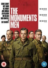 The Monuments Men (DVD): Matt Damon, Cate Blanchett, George Clooney, Bill Murray, John Goodman, Jean Dujardin, Hugh Bonneville,...