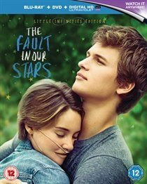 The Fault in Our Stars (Blu-ray disc): Willem Dafoe, Lotte Verbeek, Emily Peachey, Shailene Woodley, Mike Birbiglia, Nat Wolff,...