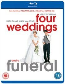 Four Weddings and a Funeral (Blu-ray disc): Hugh Grant, Andie MacDowell, James Fleet, Simon Callow, Charlotte Coleman, John...