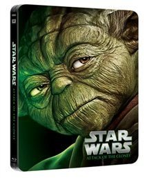 Star Wars Episode II - Attack of the Clones (Blu-ray disc): Hayden Christensen, Pernilla August, Natalie Portman, Ian...