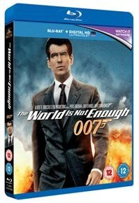 The World Is Not Enough (Blu-ray disc): Pierce Brosnan, Denise Richards, Goldie, Martyn Lewis, Robert Carlyle, Judi Dench,...
