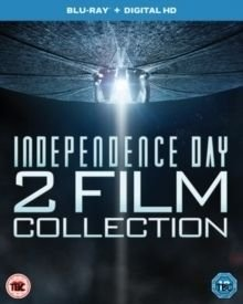 Independence Day 2 Film Collection (Blu-ray disc): Will Smith, Bill Pullman, Jeff Goldblum, Mary McDonnell, Judd Hirsch,...