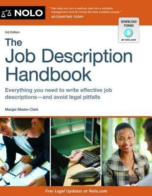 The Job Description Handbook (Paperback, 3rd): Margie Mader-clark