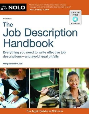 The Job Description Handbook (Paperback, 3rd ed.): Margie Mader-clark
