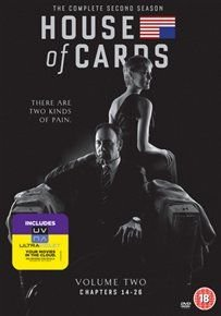 House of Cards: Season 2 (English, French, DVD): Kevin Spacey, Robin Wright, Michael Kelly, Kristen Connolly, Kate Mara, Corey...
