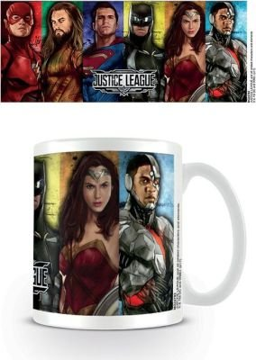 Justice League Movie - Hero Stripes Mug (315ml):