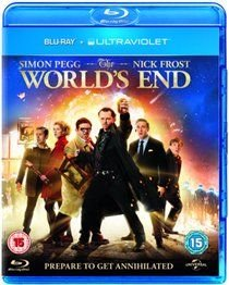 The World's End (Blu-ray disc): Simon Pegg, Nick Frost, Martin Freeman, Rosamund Pike, Paddy Considine, David Bradley,...