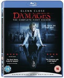 Damages: Season 1 (Blu-ray disc): Glenn Close, Rose Byrne, Ted Danson, Zeljko Ivanek, Noah Bean, Tate Donovan