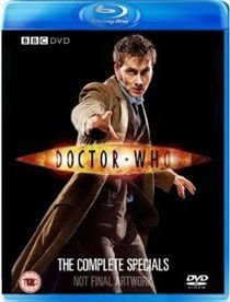Doctor Who: The Complete Specials Collection (Blu-ray disc, Boxed set): David Tennant, Michelle Ryan, Lee Evans, Noma...