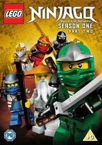 LEGO Ninjago - Masters of Spinjitzu: Season 1 - Part 2 (DVD): Vincent Tong, Kirby Morrow, Jillian Michaels, Michael...