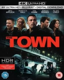 The Town (English & Foreign language, Blu-ray disc): Ben Affleck, Rebecca Hall, Blake Lively, Jon Hamm, Jeremy Renner, Chris...