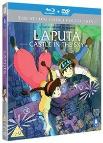 Laputa - Castle in the Sky (English, Japanese, Blu-ray disc): James Van Der Beek, Anna Paquin, Mark Hamill, Cloris Leachman,...
