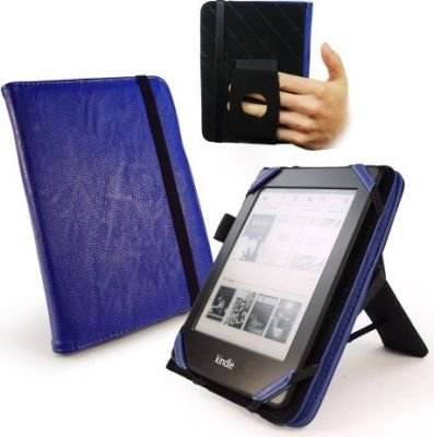 Tuff-Luv Embrace Plus Faux Leather Case for Kindle Touch