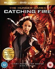 The Hunger Games: Catching Fire (Blu-ray disc): Jennifer Lawrence, Elizabeth Banks, Liam Hemsworth, Josh Hutcherson, Sam...