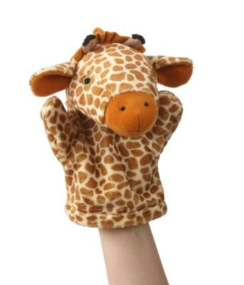 My First Puppet Giraffe (Book): The Puppet Company Ltd