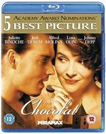 Chocolat (Blu-ray disc): Juliette Binoche, Lena Olin, Johnny Depp, Judi Dench, Alfred Molina, Peter Stormare, Carrie-Anne Moss,...