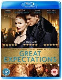Great Expectations (Blu-ray disc): Helena Bonham Carter, Jeremy Irvine, Holliday Grainger, Ralph Fiennes, Robbie Coltrane, Toby...