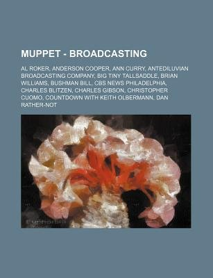 Muppet - Broadcasting - Al Roker, Anderson Cooper, Ann Curry