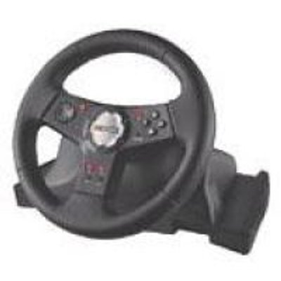 Logitech Formula Vibration Feedback Whee (PlayStation 2, Digital):