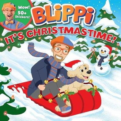 Blippi: It's Christmastime! (Paperback): Editors of Studio Fun International