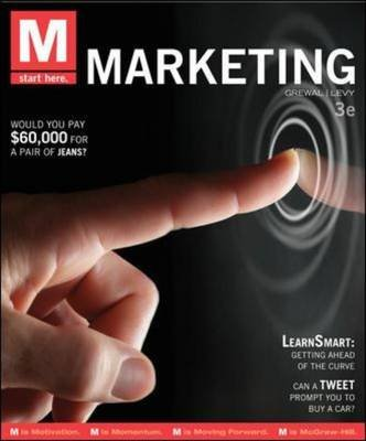 M: Marketing (Paperback, 3rd Revised edition): Dhruv Grewal, Michael Levy