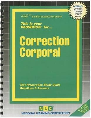 Correction Corporal (Spiral bound): Jack Rudman