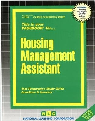 Housing Management Assistant (Paperback): National Learning Corporation