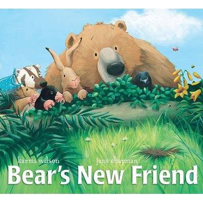 Bears New Friend (Hardcover): Karma Wilson