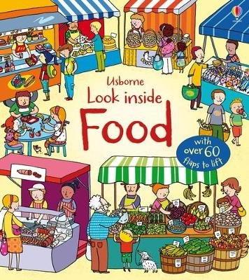 Look Inside: Food (Board book): Emily Bone
