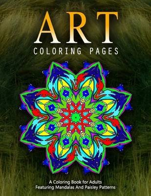 Art Coloring Pages, Volume 1 - Adult Coloring Pages (Paperback): Jangle Charm