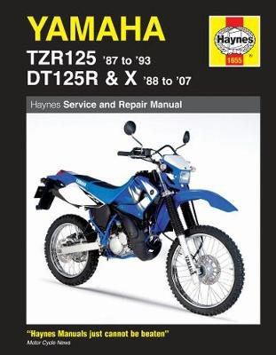 Yamaha Tzr125 (87 - 93) & Dt125R/X (88 - 07) (Paperback): Mark Coombs