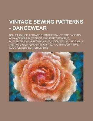 Vintage Sewing Patterns Dancewear Ballet Dance Leotards
