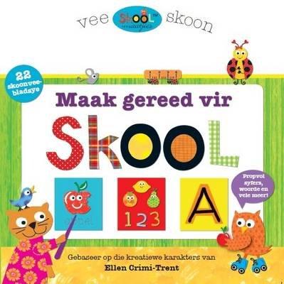Skoolmaatjies: Maak Gereed vir Skool (Afrikaans, Board book): Sarah Powell
