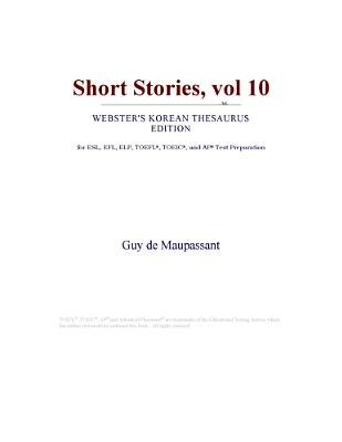 Short Stories, Vol 10 (Webster's Korean Thesaurus Edition) (Electronic book text): Inc. Icon Group International