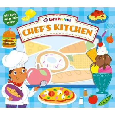 Let's Pretend Chef's Kitchen (Board book): Roger Priddy