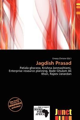 Jagdish Prasad (Paperback): Emory Christer