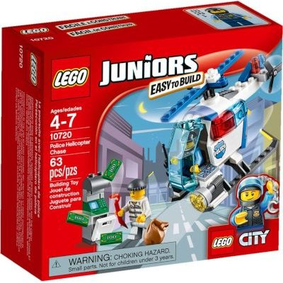 LEGO Juniors - Police Helicopter Chase: